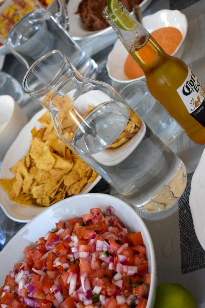 Mexicaans menu voor 10