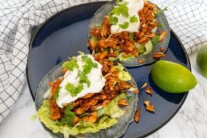 Vegan tacos met Jackfruit